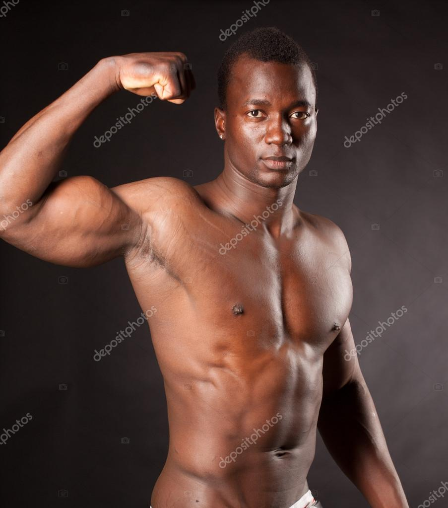 Negro musculoso negro musculoso-9052