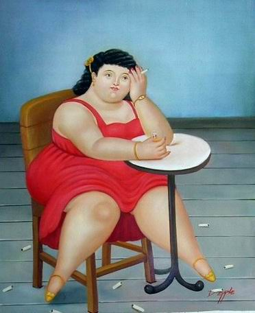 Con mujer gorda en Barcelona-2857